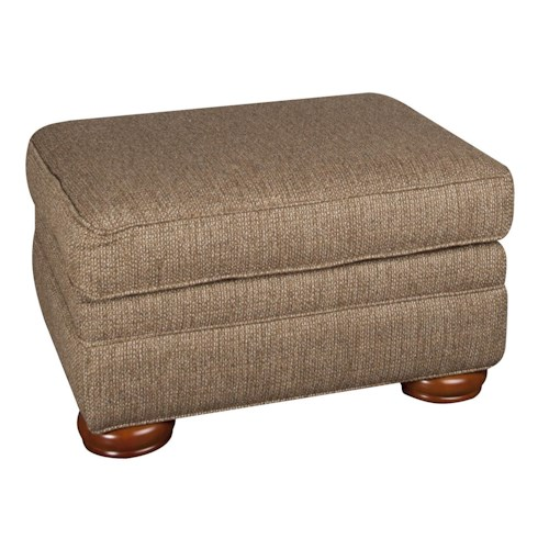 Morris Home Furnishings Rosemary Ottoman