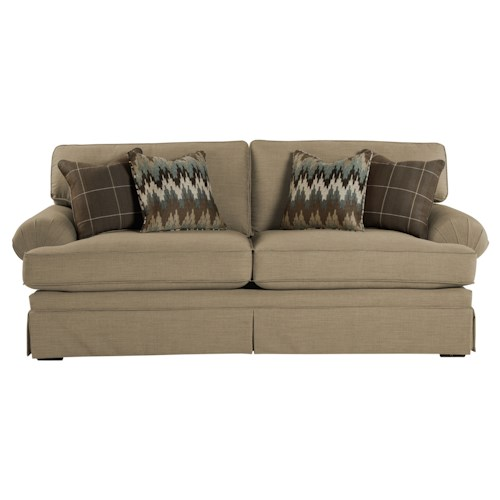 Cozy Life 4550 Casual Upholstered Stationary Sofa