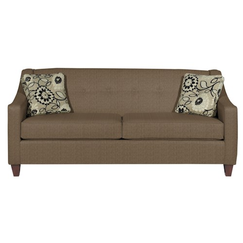 Cozy Life 706950 Contemporary Queen Sleeper with Button Detail