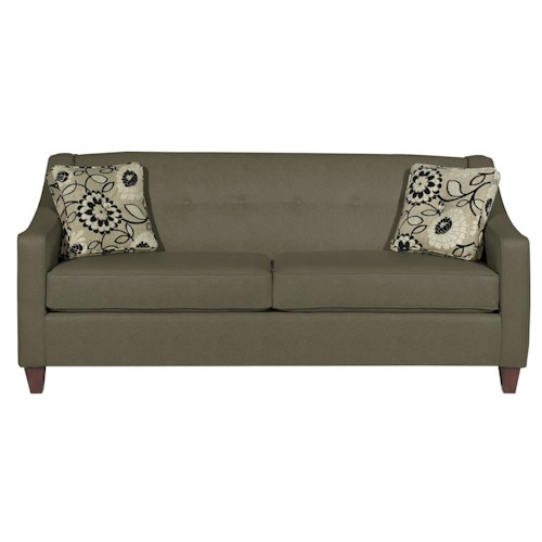 Cozy Life 706950 Contemporary Sofa with Button Detail