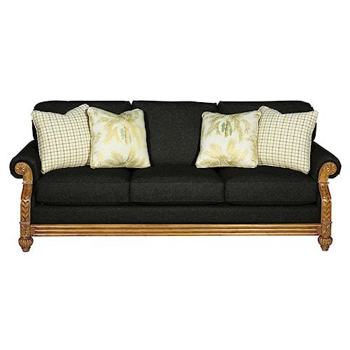 Cozy Life 722950 Casual Sofa Sleeper with Memory Foam Mattress