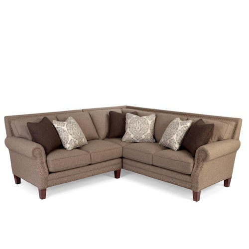 Craftmaster 747155 2 Pce Upholstered Sectional
