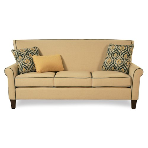 Cozy Life Mazie Tight Back Sofa w/ Toss Pillows