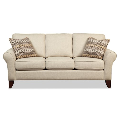 Craftmaster 755100 Transitional Small Scale Sofa