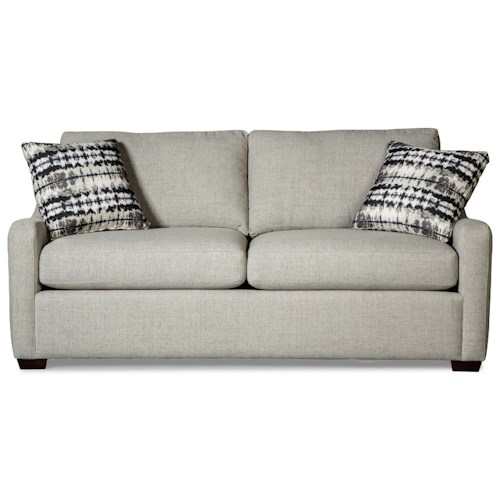 Craftmaster 764300 Casual Small-Scale Sleeper Sofa