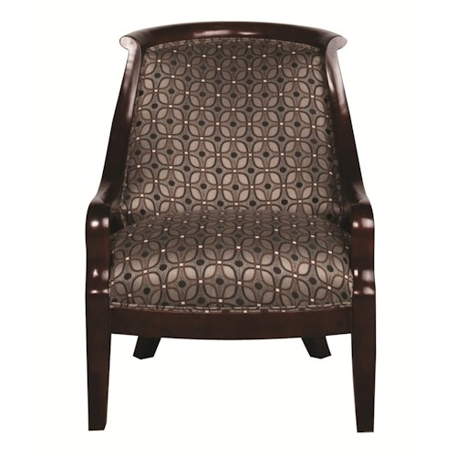 Morris Home Furnishings Andrew Accent Chair