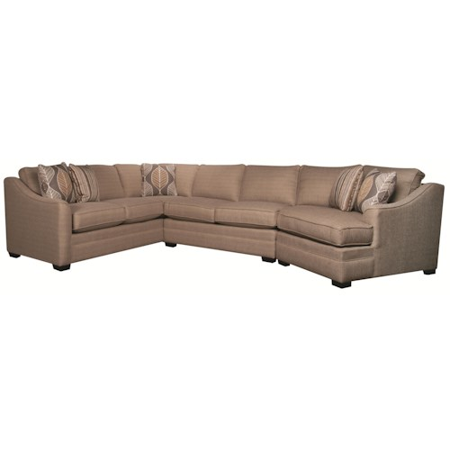 Morris Home Furnishings Bjorn 3-Piece Sectional