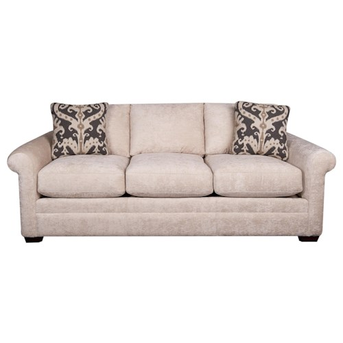 Morris Home Furnishings Bjorn Sofa