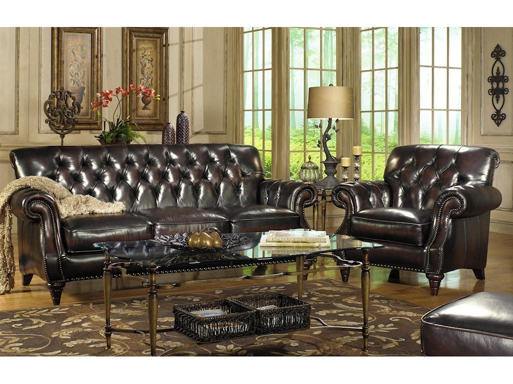 Shown with Three Cushion Sofa