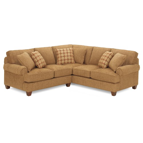 Cozy Life C9 Custom Collection <b>Customizable</b> Two Piece Sectional Sofa