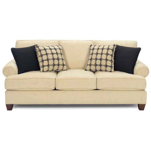 Craftmaster C9 Custom Collection <b>Customizable</b> 3 Seat Sofa