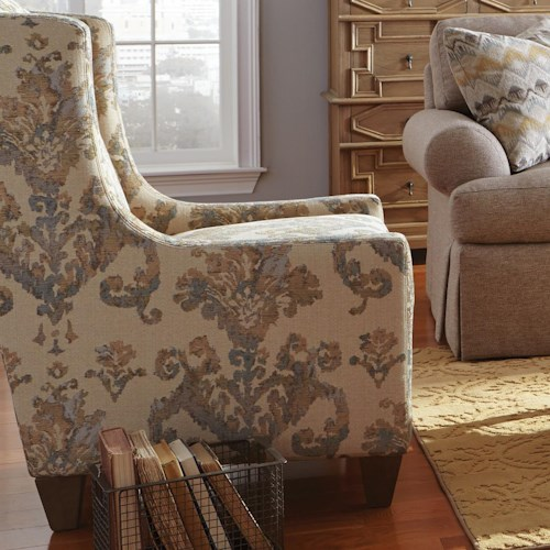 Cozy Life Accent Chairs Transitional Wing Chair