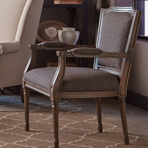 Cozy Life Accent Chairs Traditional Chair with Carved Wood Frame