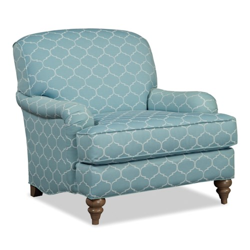 Cozy Life Accent Chairs English Arm Chair with Deep Seat