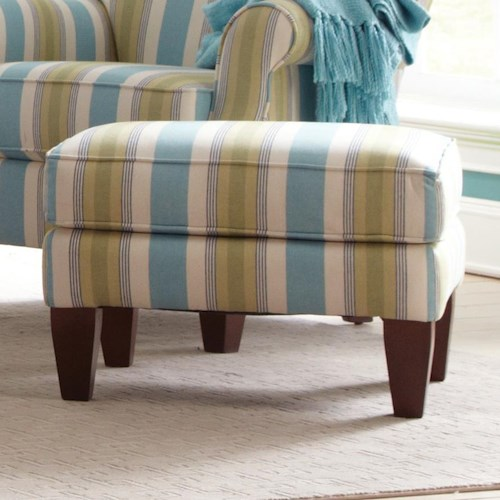 Craftmaster Accent Chairs Contemporary Upholstered Ottoman