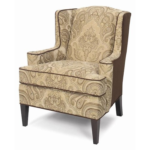 Cozy Life Accent Chairs Upholstered Wing Chair