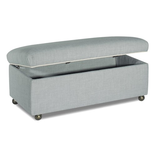Cozy Life Accent Ottomans Casual Storage Ottoman with Casters