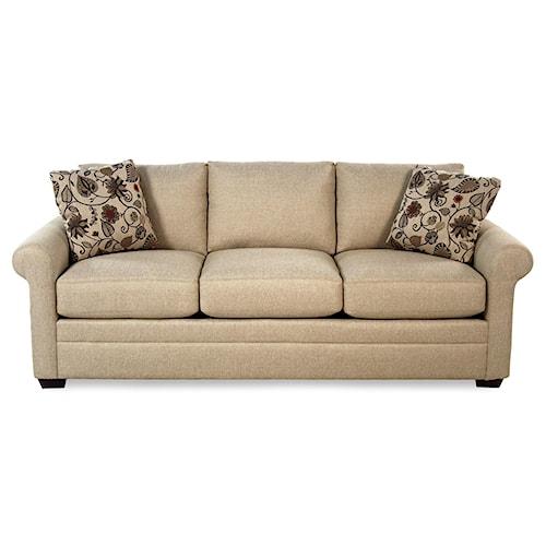 Cozy Life F9 Custom Collection <b>Customizable</b> 3-Seat Stationary Sofa