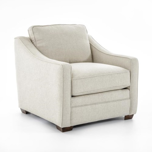 Craftmaster F9 Custom Collection <b>Customizable</b> Stationary Upholstered Chair
