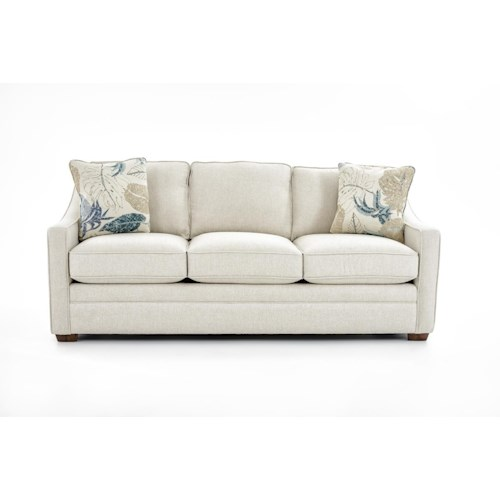 Craftmaster F9 Custom Collection <b>Customizable</b> 3-Seat Stationary Sofa