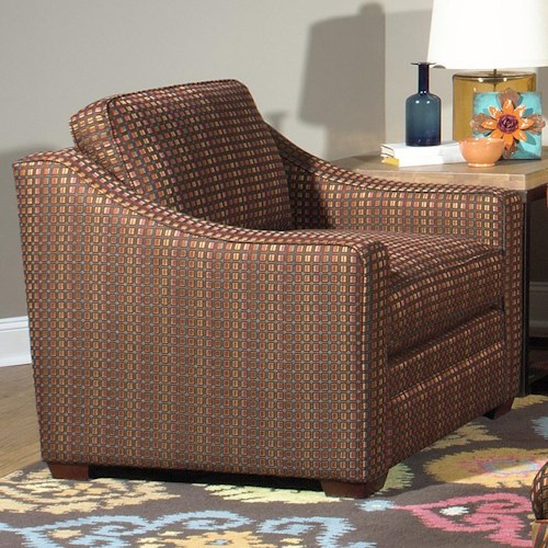 Cozy Life F9 Custom Collection <b>Customizable</b> Stationary Upholstered Chair