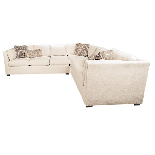 Morris Home Furnishings Highline 2-Piece Sectional