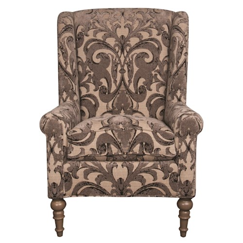 Morris Home Furnishings Humphrey Wing Chair