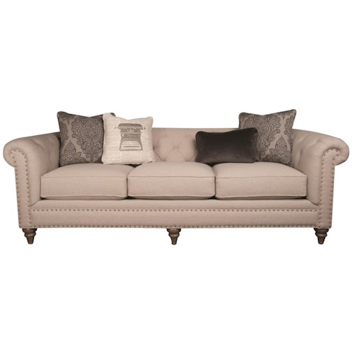 Morris Home Furnishings Humphrey Long Sofa
