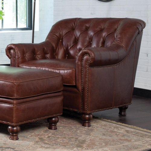 Craftmaster L152350 Traditional Chair with Nailhead Trim