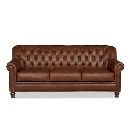 Craftmaster L152350 Traditional Sofa with Nailhead Trim