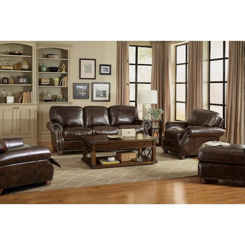 Craftmaster L161100 Traditional Living Room Group