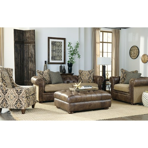 Craftmaster L161500 Traditional Living Room Group