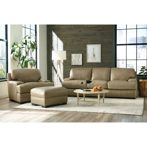 Craftmaster L163200 Contemporary Living Room Group