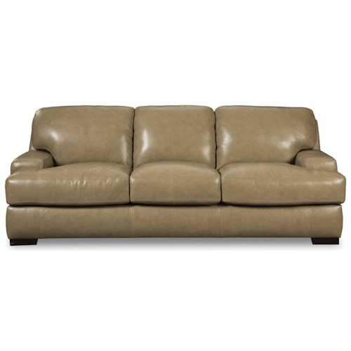 Craftmaster L163200 Contemporary Sofa with Track Arms
