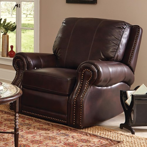 Craftmaster L352150      Traditional Leather Power Recliner