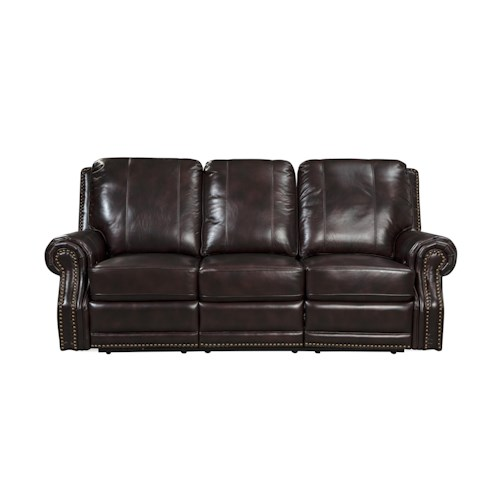 Craftmaster L352150      Traditional Leather Power Reclining Sofa