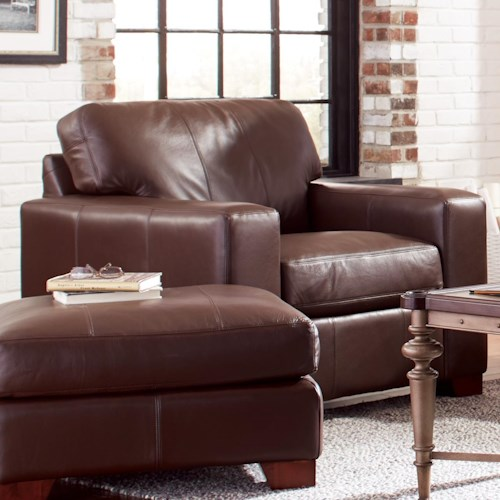 Craftmaster Axis Modern Leather Chair