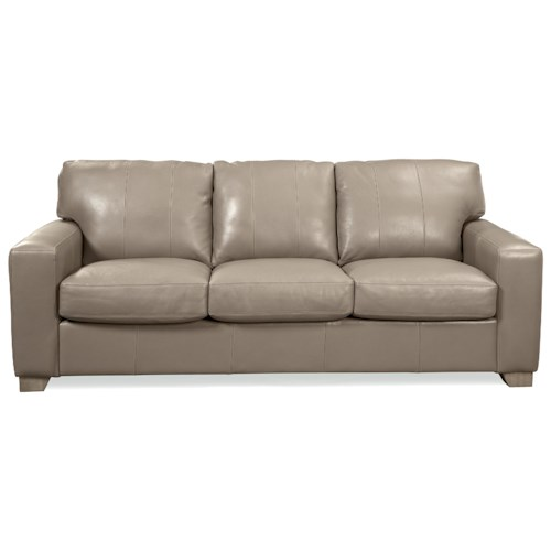 Craftmaster Axis Modern Leather Sofa
