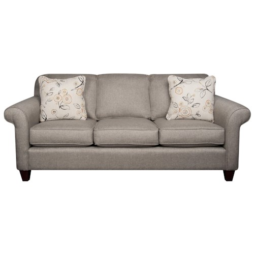 Morris Home Furnishings Sarah Revolution Fabric Sofa