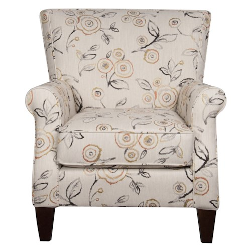 Morris Home Furnishings Sarah Accent Chair