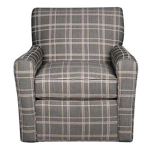 Morris Home Furnishings Sarah Swivel Chair