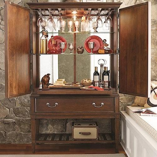 Morris Home Furnishings Upstate - Bar Cabinet