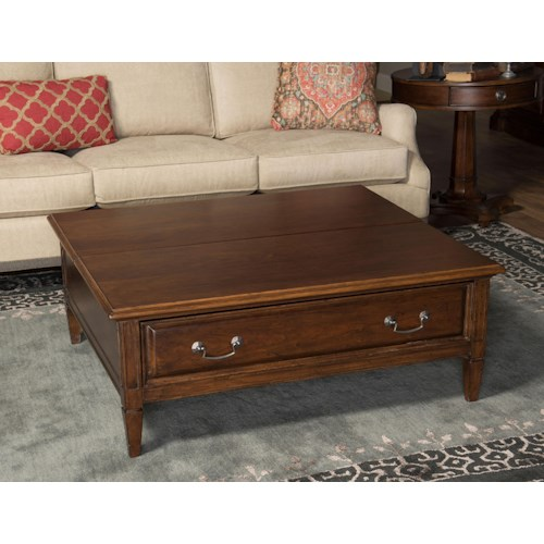 Morris Home Furnishings Upstate - Lift Top Cocktail Table