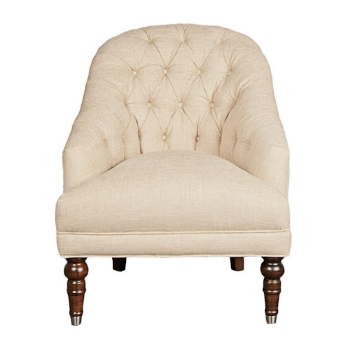Morris Home Furnishings Upstate Tufted Chair