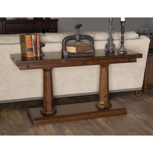 Morris Home Furnishings Upstate - Flip/Top Sofa Console
