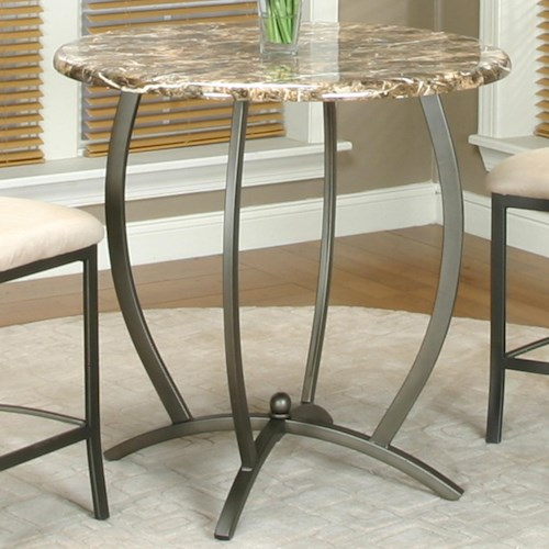 Cramco, Inc Atlas Counter Height Table w/ Faux Marble Top