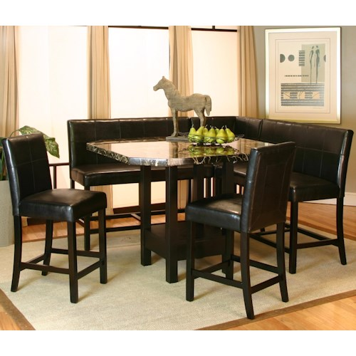 Cramco, Inc Chatham 5 Piece Pub Table Set