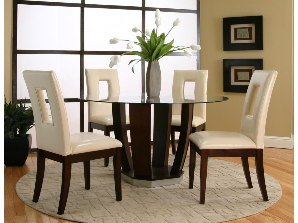 Shown as Part of 5 Piece Table Set