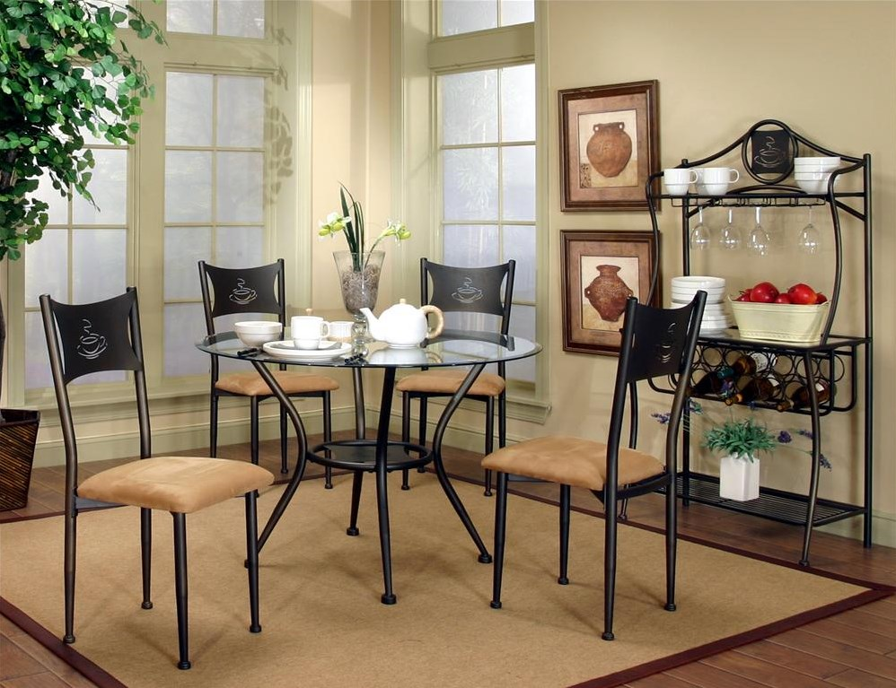 Dining Chair Shown with Three Additional Dining Chairs, 42