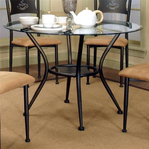 Amazoncom  Vee Glass Dining Table  Base Only  Tables